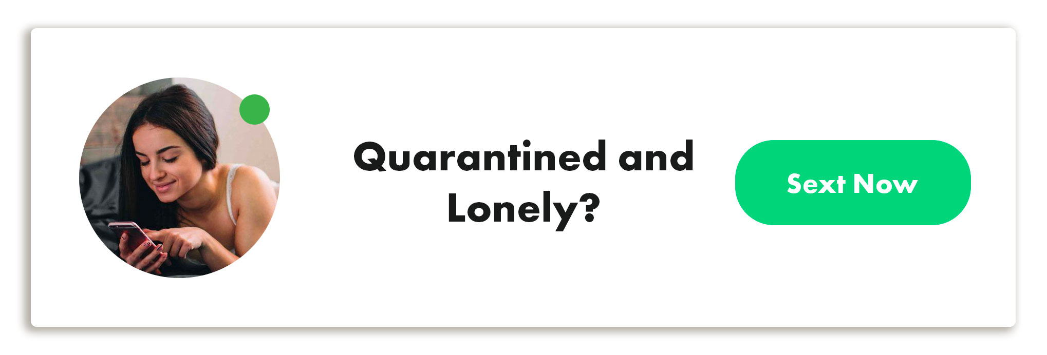 Quarantined and lonely?