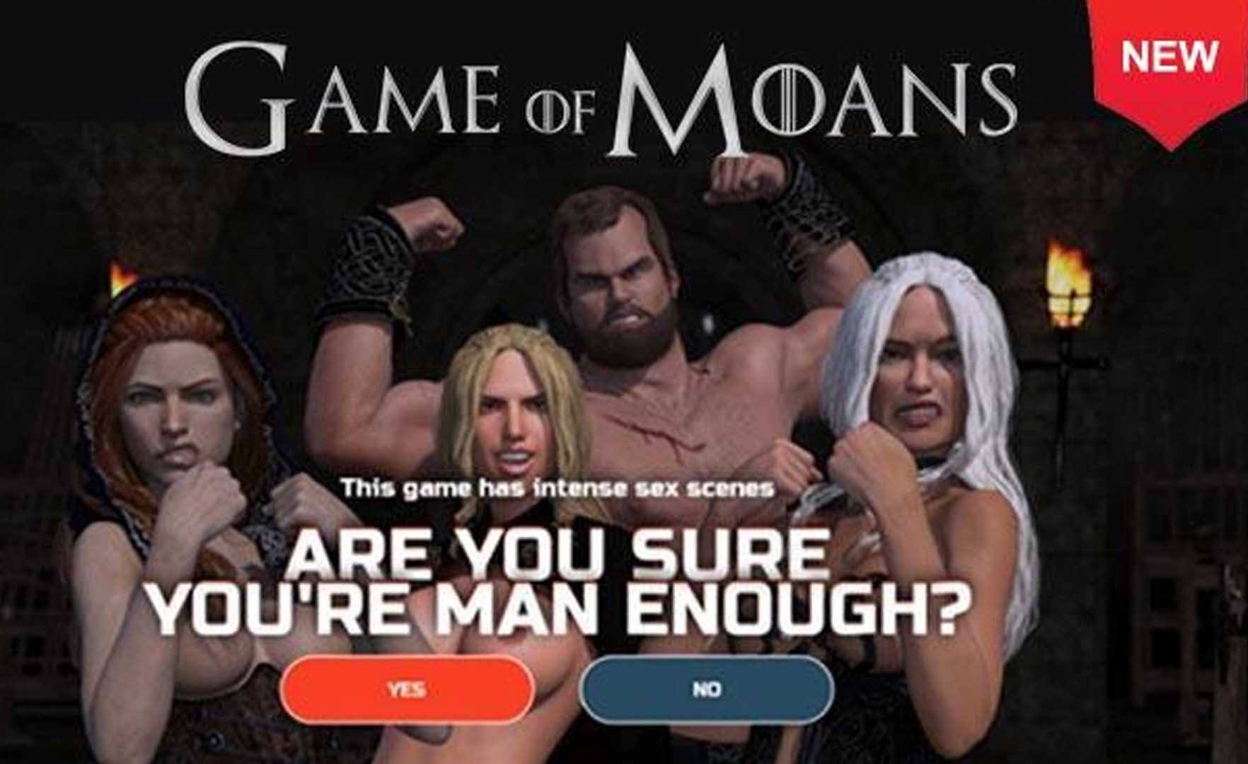 The game of moans sex game