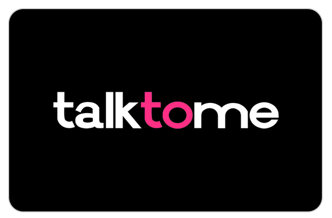 Talk to me logo