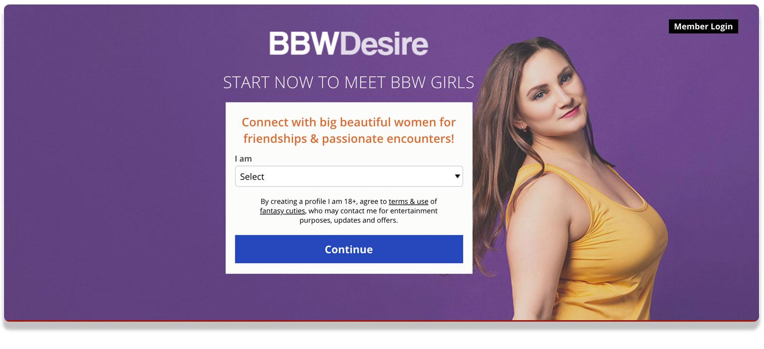 BBW Desire Sexting Website