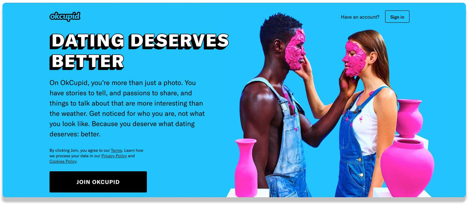 OkCupidSexting Website