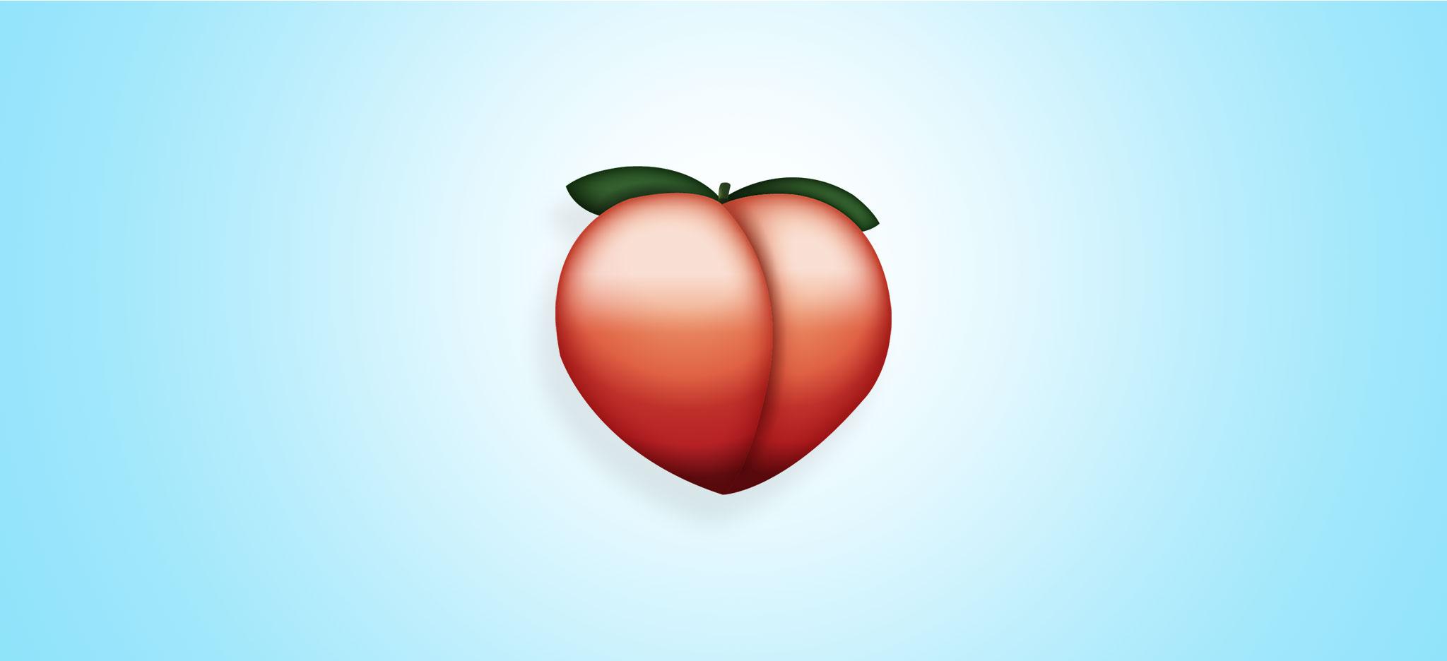 booty sexting emoji